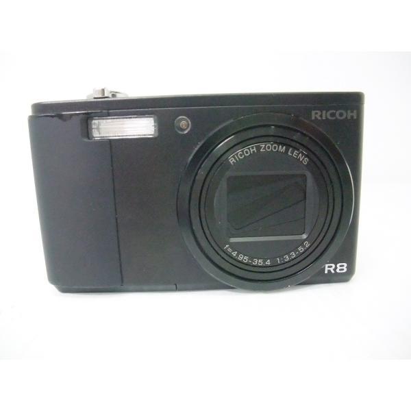 中古 コンパクトデジタルカメラ リコーイメージング Caplio R8 ブラック