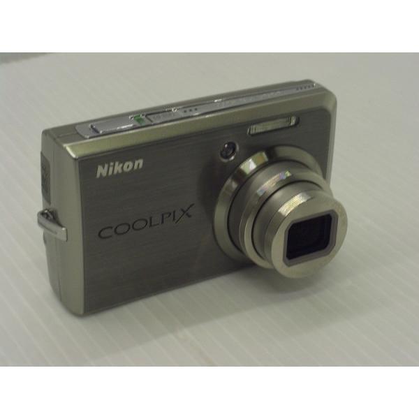 [中古] コンパクトデジタルカメラ Nikon COOLPIX S600 チタンシルバー