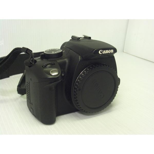 中古 デジタル一眼レフカメラ Canon EOS Kiss Digital N ブラック・ボディ