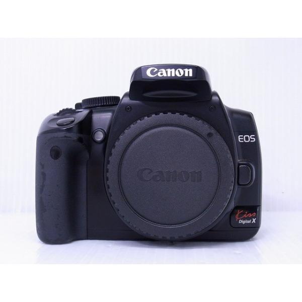 中古 デジタル一眼レフカメラ Canon EOS Kiss Digital X ブラック・ボディキット