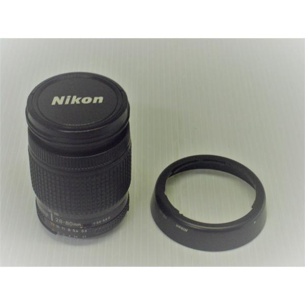 中古 交換レンズ NIKON AF-NIKKOR 28-80mm 1:3.5-5.6D