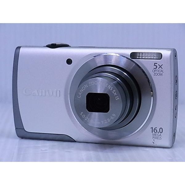 [中古] コンパクトデジタルカメラ Canon PowerShot A3500IS シルバー