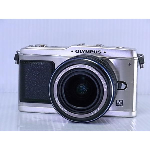 [中古] デジタル一眼カメラ OLYMPUS PEN E-P1 レンズキット シルバー