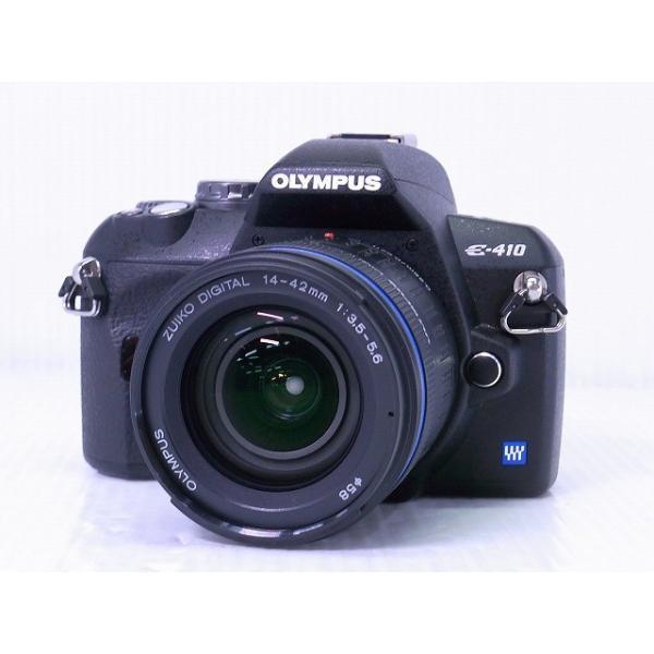 [中古] デジタル一眼レフカメラ OLYMPUS E-410 ダブルズームキット