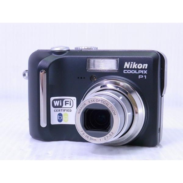 [中古] コンパクトデジタルカメラ Nikon COOLPIX P1 クラシックブラック
