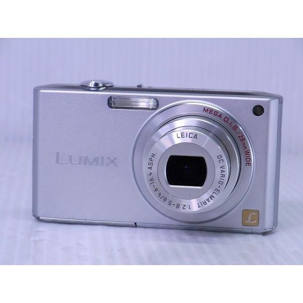 [中古] コンパクトデジタルカメラ Panasonic LUMIX DMC-FX33 プレシャスシルバー