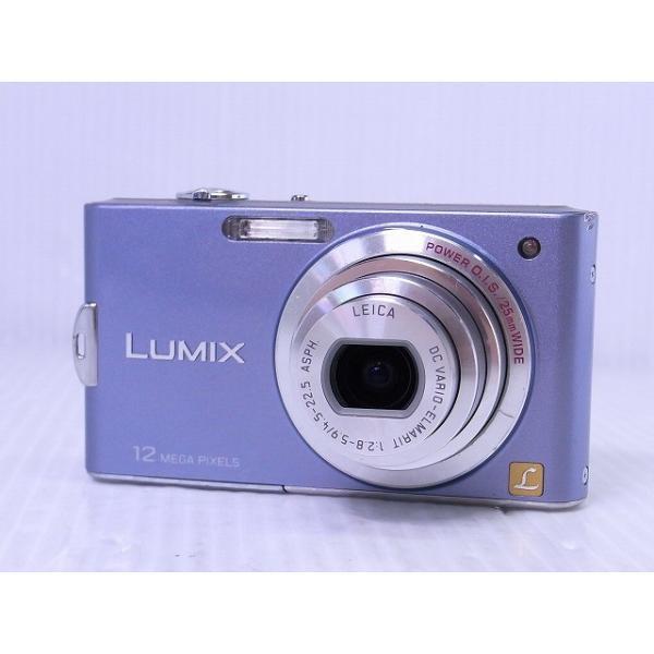 [中古] コンパクトデジタルカメラ Panasonic LUMIX DMC-FX60 ラベンダーブルー
