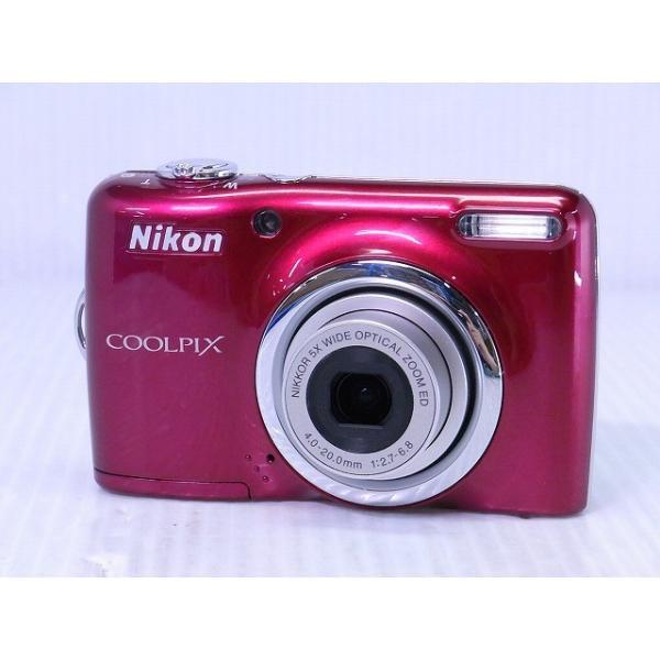 [中古] コンパクトデジタルカメラ Nikon COOLPIX L23 レッド