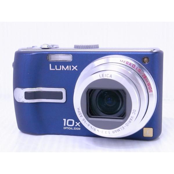 [中古] コンパクトデジタルカメラ Panasonic LUMIX DMC-TZ3 ブルー