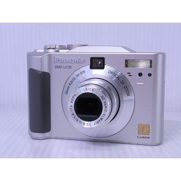 [中古] コンパクトデジタルカメラ Panasonic LUMIX DMC-LC33 シルバー
