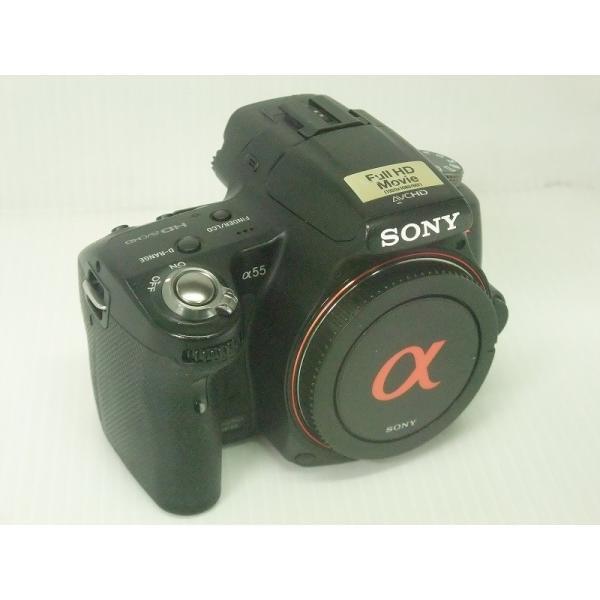 中古 デジタル一眼レフカメラ SONY α55 SLT-A55V ボディ