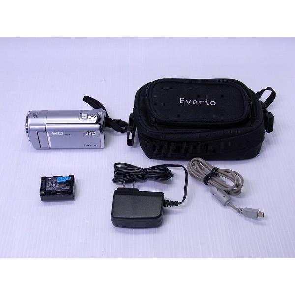 デジタルビデオカメラ JVC GZ-HM450 プレシャスシルバー