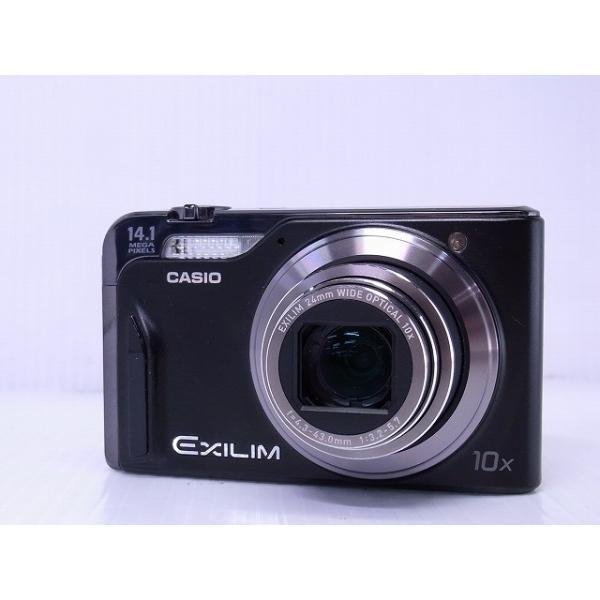 中古 コンパクトデジタルカメラ CASIO EXILIM Hi-ZOOM EX-H15 ブラック