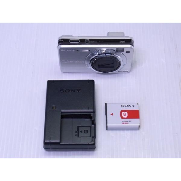 中古 コンパクトデジタルカメラ SONY Cyber-shot DSC-W170 シルバー