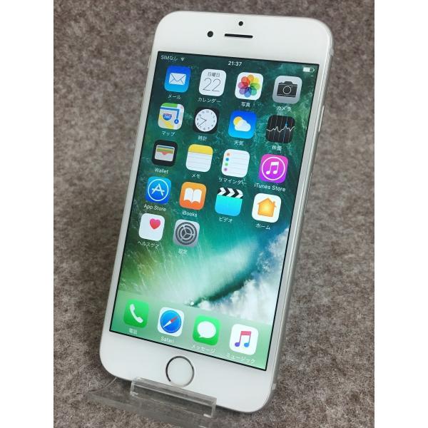 送料無料 docomo Apple iPhone6 A1586 (MG482J/A) 16GB シルバー|akibahobby