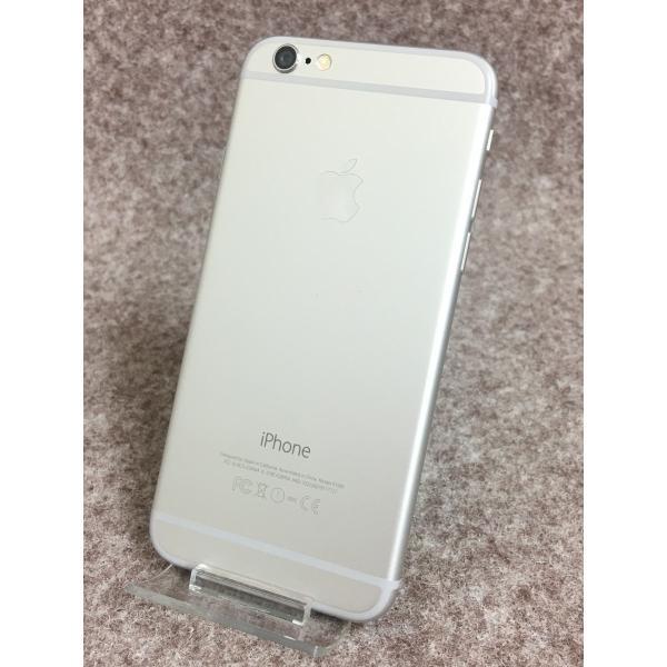送料無料 docomo Apple iPhone6 A1586 (MG482J/A) 16GB シルバー|akibahobby|02