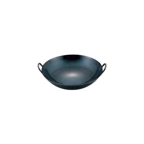 鉄 打出広東鍋(取手溶接仕様1.2mm厚) 45cm