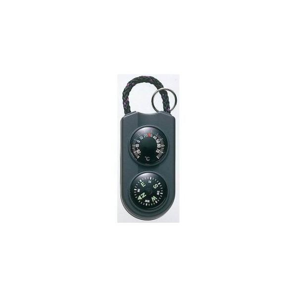 【メール便選択可】エンペックス FG-5122 温度計 コンパス サーモ&コンパス ブラック