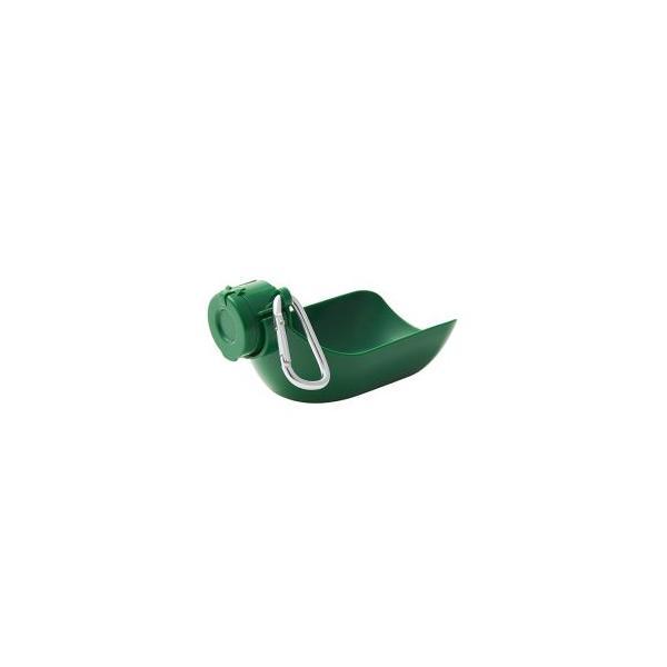イセトー おでかけ給水器&マナーキャップ カラビナ付き グリーン