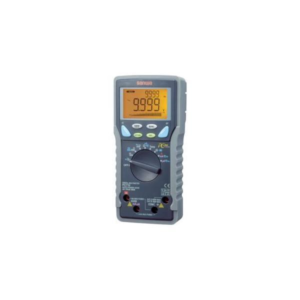 サンワ PC710 デジタルマルチメータ 真の実効値対応 パソコン接続型 三和電気計器 SANWA