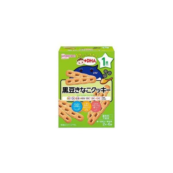 アサヒ 黒豆キナコクッキー 2本X6袋 IO02