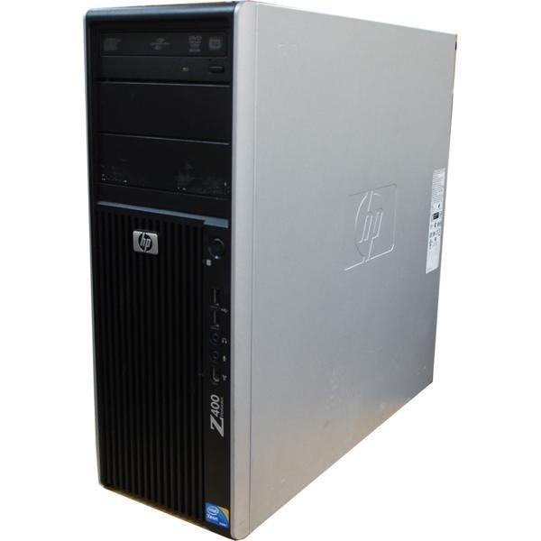 [中古] タワー型WS hp Z400 Workstation CT (4コア8スレッド Xeon W3565 3.2GHz 8GBメモリ 250GBハードディスク GeForce GT240 Windows10 Pro 64bit) akibapalette