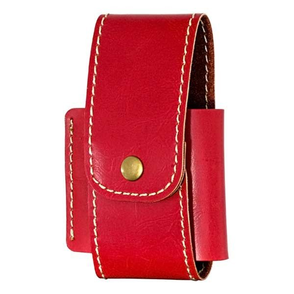 加熱式タバコケース IQOS アイコスケース Style1 ベルトループ RED レッド メール便可