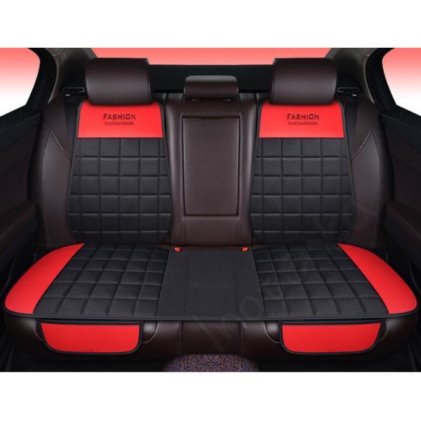 車 シートクッション 座布団 全座席 後座席 リアシート カーマット 高級感 バテイ型 カー用品 シートカバーシート 汎用 自動車内装 背マット 組み合わせ akiko-taogeshop 11