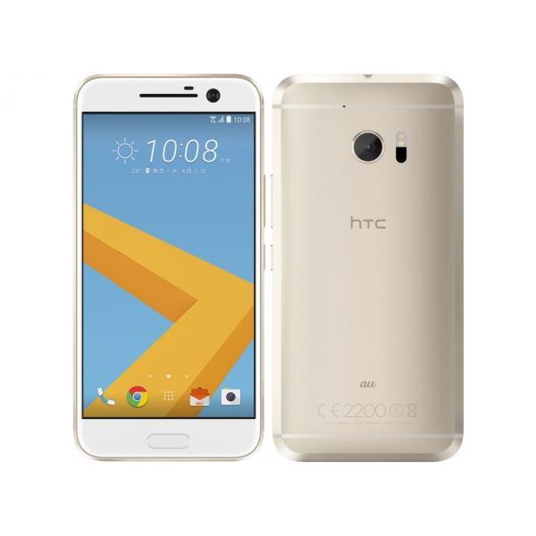 HTV32 HTC10 au ゴールド [Topaz Gold] HTC 新品 未使用品 白ロム スマートフォン akimoba