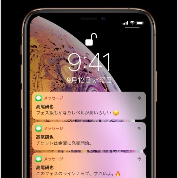 SIMフリー iPhoneXS 64GB ゴールド [Gold] 新品未使用 Apple iPhone本体 MTAY2J/A スマートフォン Model A2098 白ロム|akimoba|05