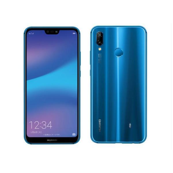 HUAWEI P20 lite 32GB クラインブルー auの画像
