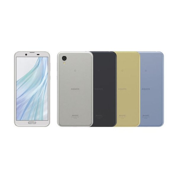 SIMフリー SH-M08 AQUOS sense2 銀 [ホワイトシルバー] 新品 SHARP シャープ 5.5インチ メモリー3GB ストレージ32GB akimoba 02