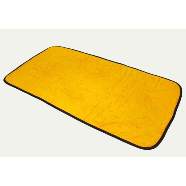 厚手 送料無料 10枚セット 約70×130cm・2000匁・まとめ買い ゴールド サウナマット 業務用 スレン染め