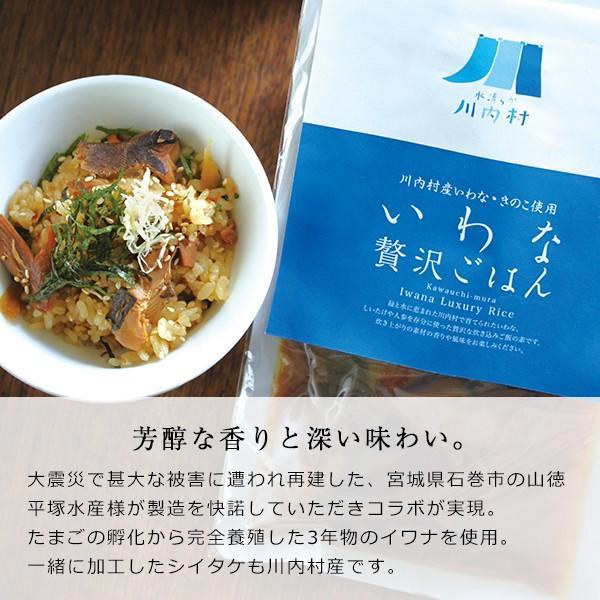 いわなの贅沢ごはん ご飯の素 2合 akindo-shoten 02