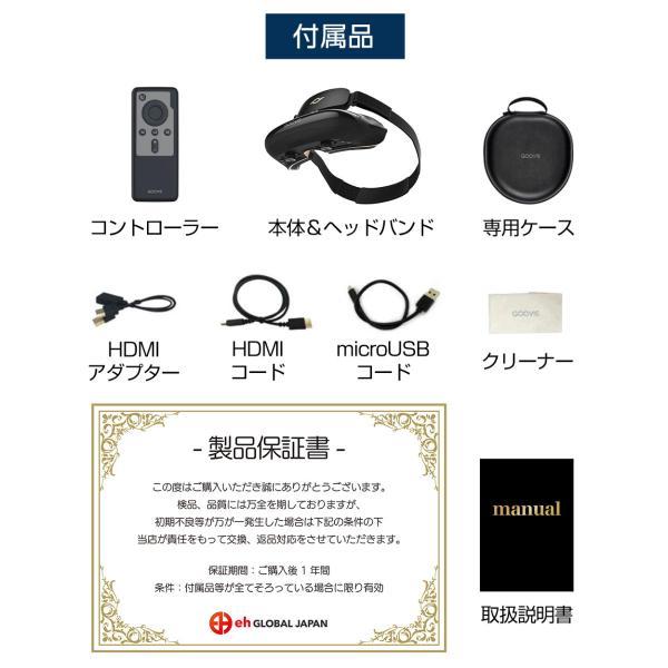 GOOVIS Pro VRゴーグル VRヘッドセット ヘッドマウントディスプレイ akindoyamaru 04