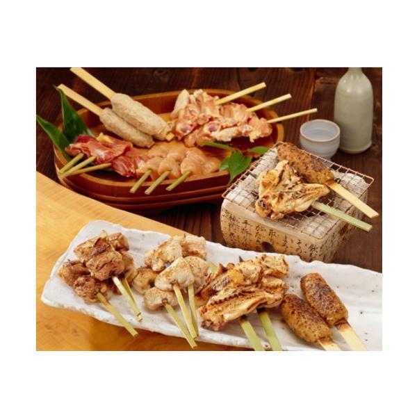 比内地鶏串焼き&ステーキセット【秋田比内や・送料込!】