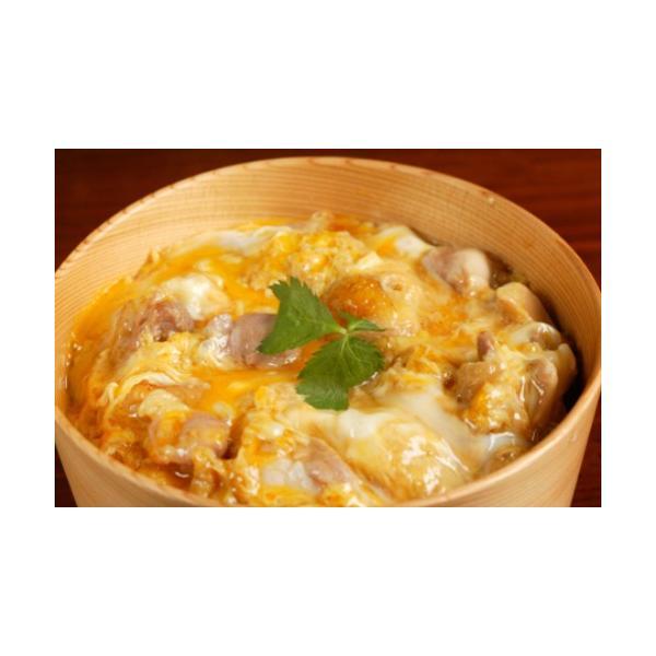 比内地鶏 親子丼セット(6人前) 【秋田比内や・送料込!】