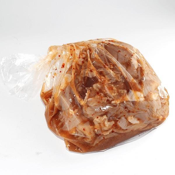 ホルモン 700g(約2人前) 秋田鹿角名物豚ホルモン焼き お試しサイズ 焼肉 バーベキュー 甘辛い秘伝のタレ [ホルモン幸楽]冷凍|akitagokoro|02