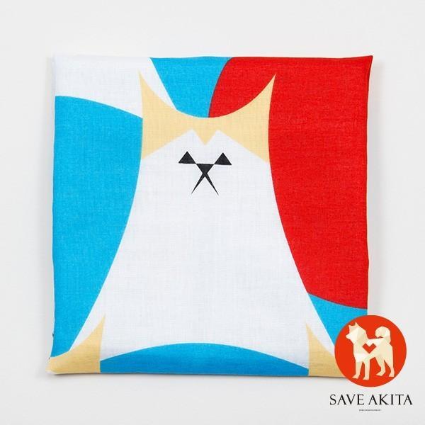 AKITA FUJI バンダナ 1枚 バンダナ 秋田犬 ペットグッズ 可愛い 犬 【OFA】|akitagokoro