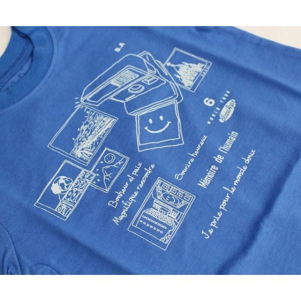 ポラロイド写真 半袖Tシャツの画像3