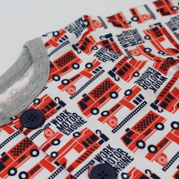 レスキュー前開きパジャマの画像3