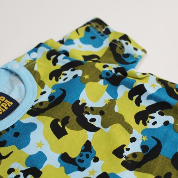 パンダ柄半袖パジャマの画像3
