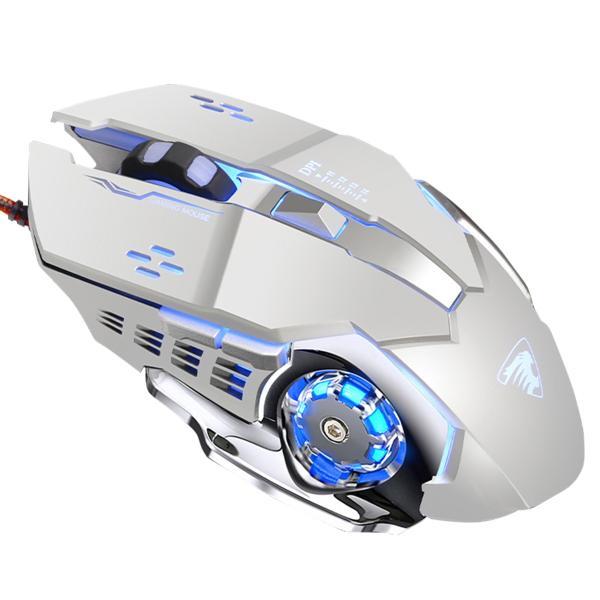 ゲーミング マウス レーザー 有線 静音 パソコン 光学式 led 薄型 ゲーミング led搭載 充電 軽量 マクロ設定 USB 高精度 dpi 4dpi 4種 PS4 送料無料 akitou-net 19