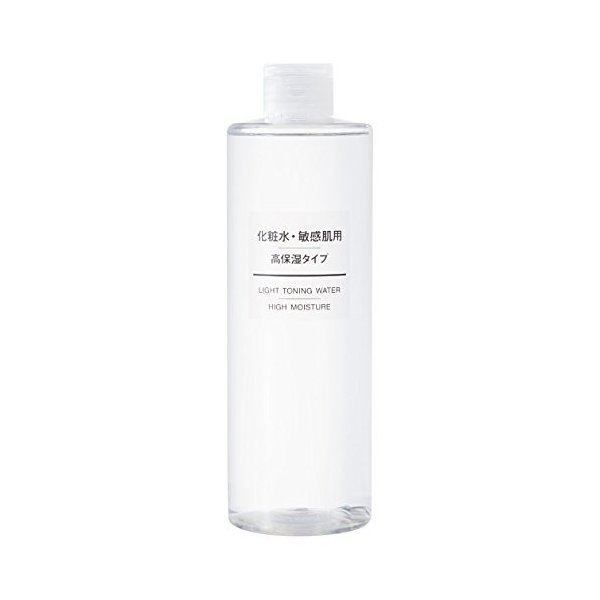 無印良品 化粧水 敏感肌用 高保湿タイプ 大容量 400ml 敏感肌 スキンケア ...
