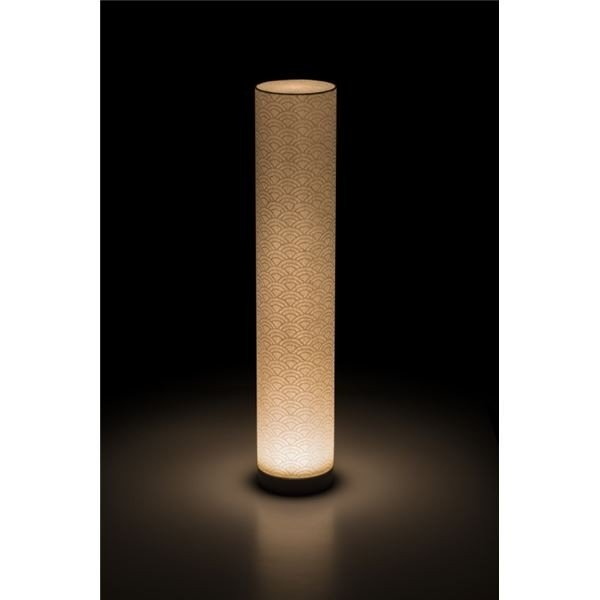 LEDコードレス 和室 モダン照明 BL550スタンドライト青海波 〔日本製〕