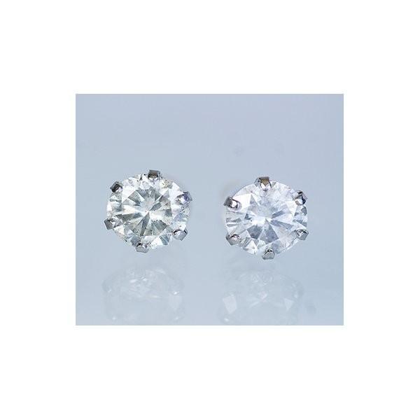 ポイント5倍!PT900 1.5ctダイヤモンドピアス(鑑別書付き) プラチナ