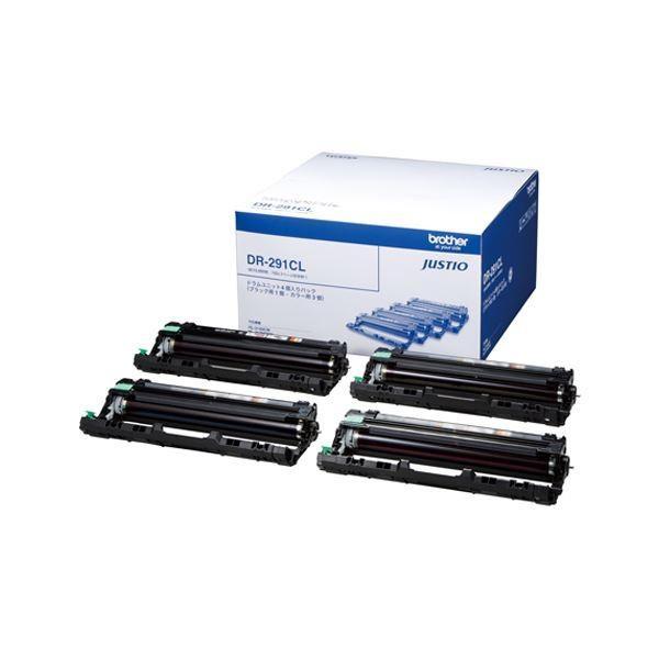 ブラザー工業 BROTHER カラーレーザートナー DR291CL クリアランスsale 出荷 期間限定 ブラザー 用 4本 インク色:ドラムユニット