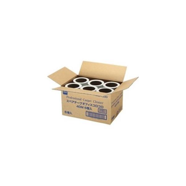 ニトムズ 格安 価格でご提供いたします オフィスコロコロ ☆新作入荷☆新品 スペアテープ 掃除用品 6巻 C1530