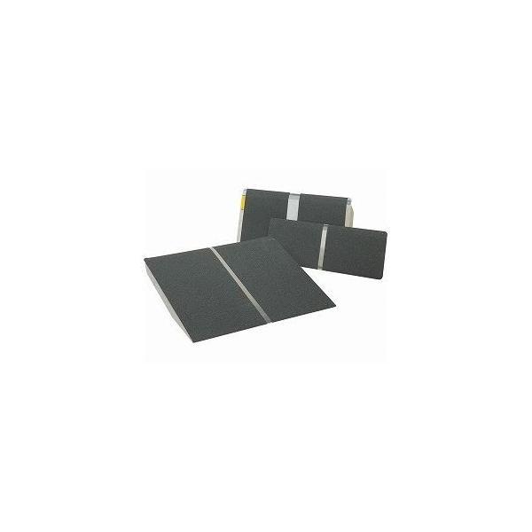 イーストアイ ポータブルスロープ 美品 アルミ1枚板タイプ PVTシリーズ 介護用品 長さ61.0cm PVT060 激安セール
