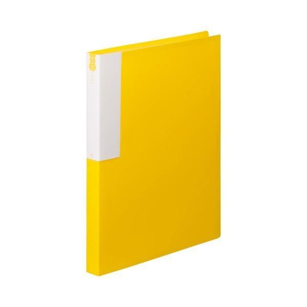 TANOSEE クリヤーブック クリアブック A4タテ 36ポケット イエロー 背幅24mm ×5 10冊 1 大幅にプライスダウン 期間限定特価品